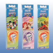 Braun OralB Stages Power Aufsteckbürsten für Kinder