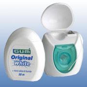Zahnseide aus der OriginalWhite Pflegeserie von GUM