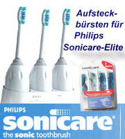 3er Pack ASB medium f Philips Sonicare Elite