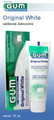 Original White Zahncreme von GUM