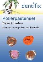 Polierpasten in kleinen Tiegelchen. Sehr sparsam verwenden!