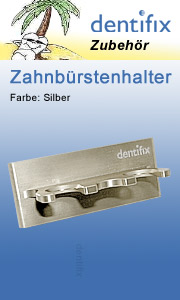 Zahnbürstenhalter silber
