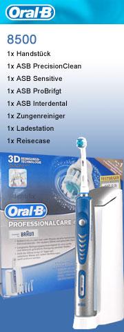 Professional Care 8500 Modell D18.565 von Braun Oral-B