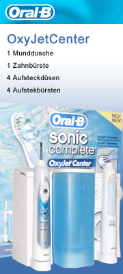 Braun Oral-B Sonic Complete OxyJet Center