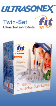 Fit For Fun Ultraschallzahnbürste