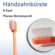Acht Kant zahnbürste für DentiAll