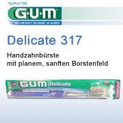 Superweiche Zahnbürste